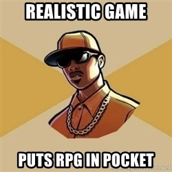 Gta Player - realistic game puts RPG in pocket