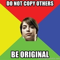 Non Jealous Girl - DO NOT COPY OTHERS BE ORIGINAL