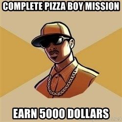 Gta Player - COMPLETE PIZZA BOY MISSION EARN 5000 DOLLARS