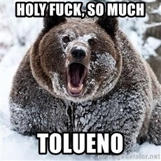 Cocaine Bear - holy fuck, so much tolueno