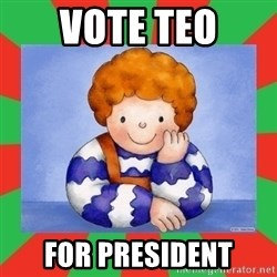 TEO-2012 - vote teo for president