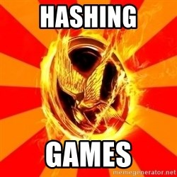 Typical fan of the hunger games - Hashing games