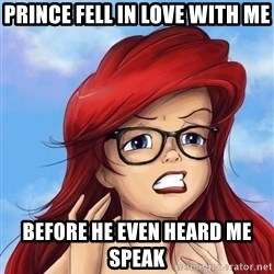 Hipster Ariel - Prince fell in love with me before he even heard me speak