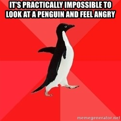 Socially Awesome Penguin - It's practically impossible to look at a penguin and feel angry