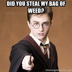 Harry Pothead - Did you steal my bag of weed?
