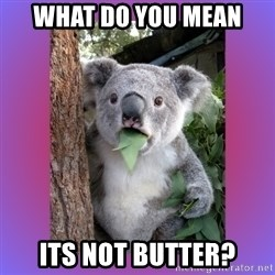 Koala Surprise - What do you mean Its not butter?