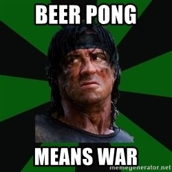 remboraiden - Beer pong means war