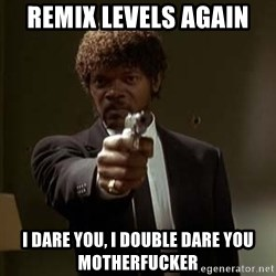 Jules Pulp Fiction - remix levels again i dare you, i double dare you motherfucker