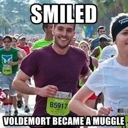 Ridiculously photogenic guy (Zeddie) - Smiled voldemort became a muggle