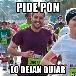 Ridiculously photogenic guy (Zeddie) - Pide pon lo dejan guiar