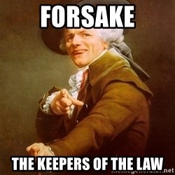 Joseph Ducreux - Forsake the keepers of the law