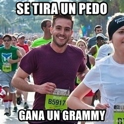 Ridiculously photogenic guy (Zeddie) - se tira un pedo gana un grammy