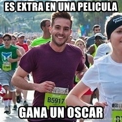 Ridiculously photogenic guy (Zeddie) - Es Extra en Una pelicula gana un oscar