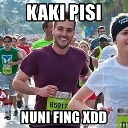Ridiculously photogenic guy (Zeddie) - KAKI PISI NUNI FING XDD