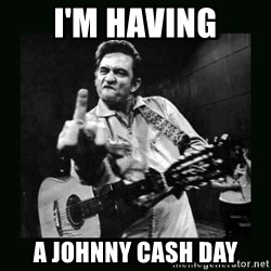 Johnny Cash - i'm having a johnny cash day
