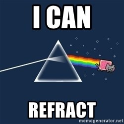 nyan cat - i can refract