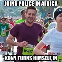Ridiculously photogenic guy (Zeddie) - Joins Police in AFRICA Kony turns himself in