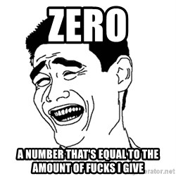 Yaomingpokefarm - zero a number that's equal to the amount of fucks i give