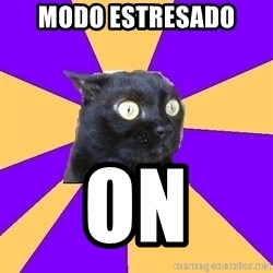 Anxiety Cat - MODO ESTRESADO ON