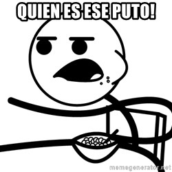 Cereal Guy - quien es ese puto!