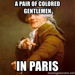 Joseph Ducreux - A pair of colored gentlemen in paris