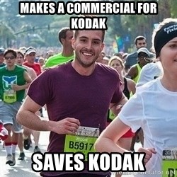 Ridiculously photogenic guy (Zeddie) - Makes a Commercial for Kodak Saves Kodak