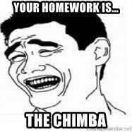 Yao Ming 5 - your homework is... the chimba