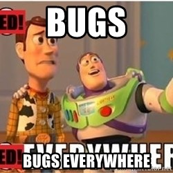 Toy Story Everywhere - BUGS BUGS EVERYWHERE
