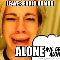 leave britney alone - Leave Sergio ramos alone