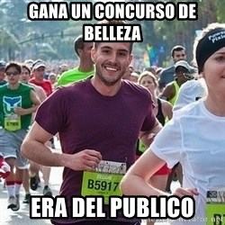Ridiculously photogenic guy (Zeddie) - gana un concurso de belleza era del publico