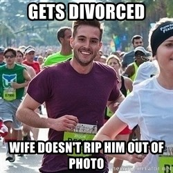 Ridiculously photogenic guy (Zeddie) - Gets Divorced Wife Doesn't Rip Him Out Of Photo