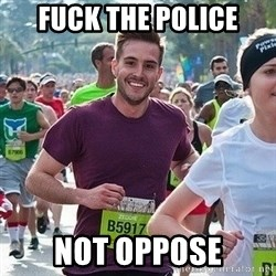 Ridiculously photogenic guy (Zeddie) - fuck the police Not oppose