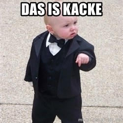 Godfather Baby - das is kacke