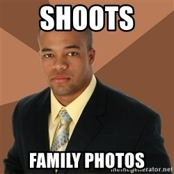 Successful Black Man - Shoots  family photos