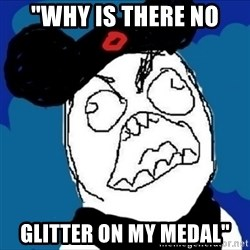 "runDisney Rage - ""why is there no glitter on my medal"""