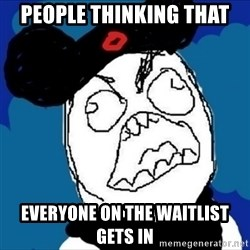 runDisney Rage - people thinking that everyone on the waitlist gets in