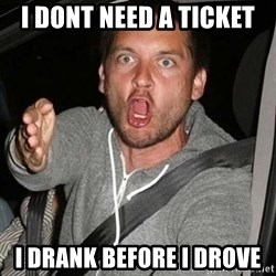 Raging Macguire - i dont need a ticket i drank before i drove