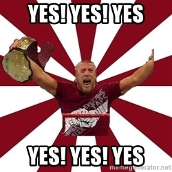 Daniel Bryan - YES! YES! YES YES! YES! YES