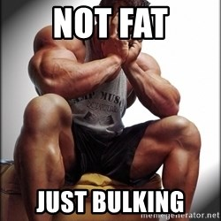 Fit Guy Problems - not fat just bulking