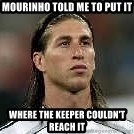 Sergio Ramos 4  - Mourinho told me to put it  where the keeper COULDN'T reach it