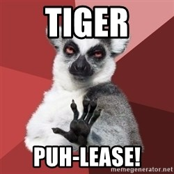 Chill Out Lemur - tiger puh-lease!