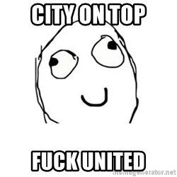 Happy face - City on top Fuck united