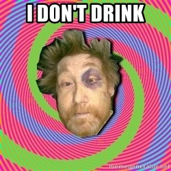 Russian Boozer - i don't drink