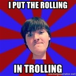 Rider Nelson - i put the rolling in trolling