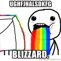 Puking Rainbows - Ughfjhalsdkfg blizzard.