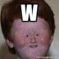 Generic Ugly Ginger Kid - w