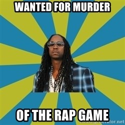 Innocent 2 Chainz - WANTED FOR MURDER OF THE RAP GAME