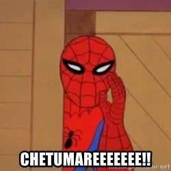 Spidermanwhisper - chetumareeeeeee!!