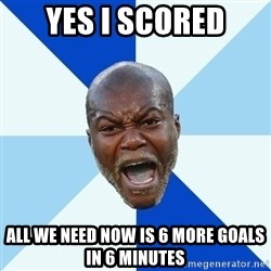Imperative Cisse - Yes i scored All we need now is 6 more goals in 6 minutes