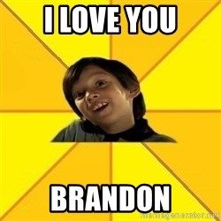 es bakans - I love you Brandon